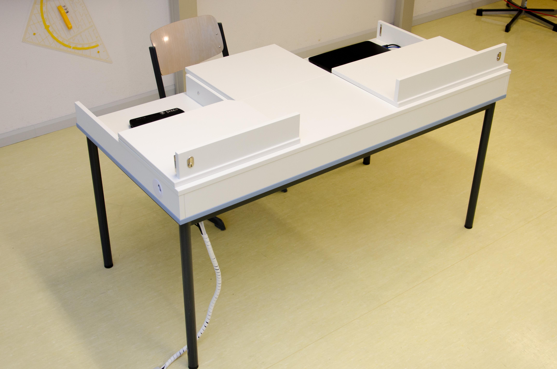 Tisch schule  VisioTisch | Aurion Medientisch für Schulen - Die Multimedialösung ...